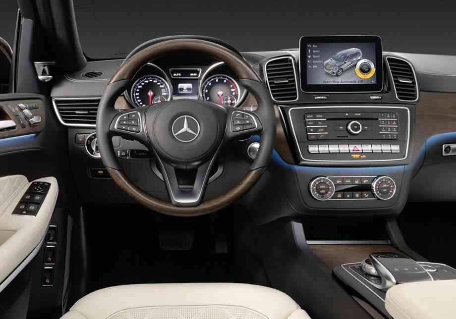 новый GLS Mercedes Benz 2016
